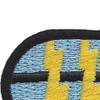 12th Airborne Special Forces Group Patch Oval | Upper Left Quadrant