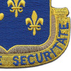 129th Infantry Regiment Patch | Lower Right Quadrant