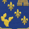 129th Infantry Regiment Patch | Center Detail