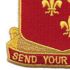 129th Field Artillery Regiment Patch | Lower Left Quadrant