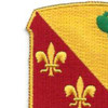 129th Field Artillery Regiment Patch | Upper Left Quadrant