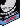 128th Bomb Squadron Patch | Lower Right Quadrant