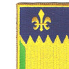 127th Field Artillery Regiment Patch | Upper Left Quadrant