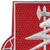 127th Airborne Engineer Battalion Patch | Upper Left Quadrant
