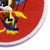 127th Airborne Engineer Battalion Chipmunk Patch | Lower Right Quadrant