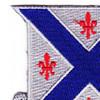 126th Infantry Regiment Patch | Upper Left Quadrant