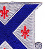 126th Infantry Regiment Patch | Upper Right Quadrant