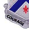 126th Infantry Regiment Patch | Lower Left Quadrant