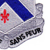 126th Infantry Regiment Patch | Lower Right Quadrant