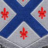 126th Armored Cavalry Regiment Patch | Center Detail