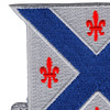 126th Armored Cavalry Regiment Patch | Upper Left Quadrant