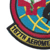 187th Aeromed Evac Squadron Patch | Lower Left Quadrant