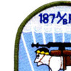 187 A/B RCT Patch Airborne Infantry Regimental Combat Team | Upper Left Quadrant