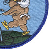 186th Fighter Squadron Patch Hook And Loop | Lower Right Quadrant