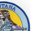 186th Fighter Squadron Montana Air National Guard Patch F-16 Fighting Falcon | Upper Right Quadrant