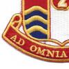 186th Field Artillery Regiment Patch | Lower Left Quadrant