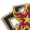 184th Ordnance Battalion Patch | Upper Left Quadrant