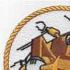 75th Naval Mobile Construction Battalion Patch   Upper Left Quadrant