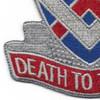 183rd Cavalry Regiment Virginia National Gaurd Patch | Lower Left Quadrant