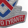 183rd Cavalry Regiment Virginia National Gaurd Patch | Lower Right Quadrant