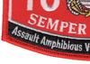 1833 Assault Amphibious Vehicle AAV Crewman MOS Patch