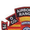 75th Infantry Regiment O Company Long Range Patrol - Airborne Ranger   Upper Left Quadrant