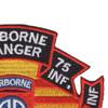 75th Infantry Regiment O Company Long Range Patrol - Airborne Ranger   Upper Right Quadrant