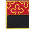 182nd Field Artillery Regiment Patch | Upper Left Quadrant