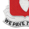 17th Engineer Battalion Patch   Lower Left Quadrant