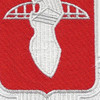 17th Engineer Battalion Patch | Center Detail