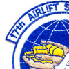 17th Airlift Squadron Patch | Upper Left Quadrant