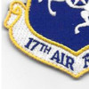 17th Air Force Shoulder Patch Hook And Loop | Lower Left Quadrant