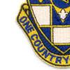 178th Infantry Regiment Patch | Lower Left Quadrant