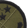 125th Regional Readiness Command Patch | Upper Right Quadrant