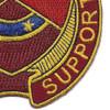 125th Quartermaster Regiment Patch   Lower Right Quadrant