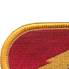 125th Military Intelligence Battalion Patch Oval | Upper Left Quadrant