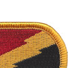 125th Military Intelligence Battalion Patch Oval | Upper Right Quadrant