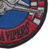 125th Fighter Squadron F-16M Patch   Lower Right Quadrant