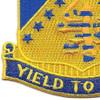 125th Infantry Regiment Patch | Lower Left Quadrant