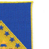 125th Infantry Regiment Patch | Upper Right Quadrant