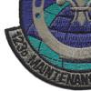 123rd Maintenance Squadron Patch | Lower Left Quadrant