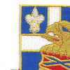 122nd Infantry Regiment Patch | Upper Left Quadrant