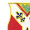 122nd Field Artillery Regiment Patch | Upper Left Quadrant