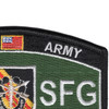 5th Special Forces Group Military Occupational Specialty MOS Patch De Oppresso Liber | Upper Right Quadrant