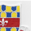 122nd Cavalry Regiment Patch | Upper Right Quadrant