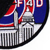 121st Tactical Fighter Squadron Patch F-4D Phantom | Lower Right Quadrant