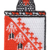 121st Signal Battalion Patch | Center Detail