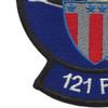 121st Fighter Squadron Patch | Lower Left Quadrant