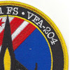 121st Fighter Squadron Det. New Orleans Patch | Upper Right Quadrant