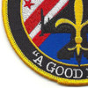 121st Fighter Squadron Det. New Orleans Patch | Lower Left Quadrant